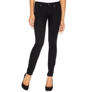 Size 26 Black Guess Power Skinny Jeans